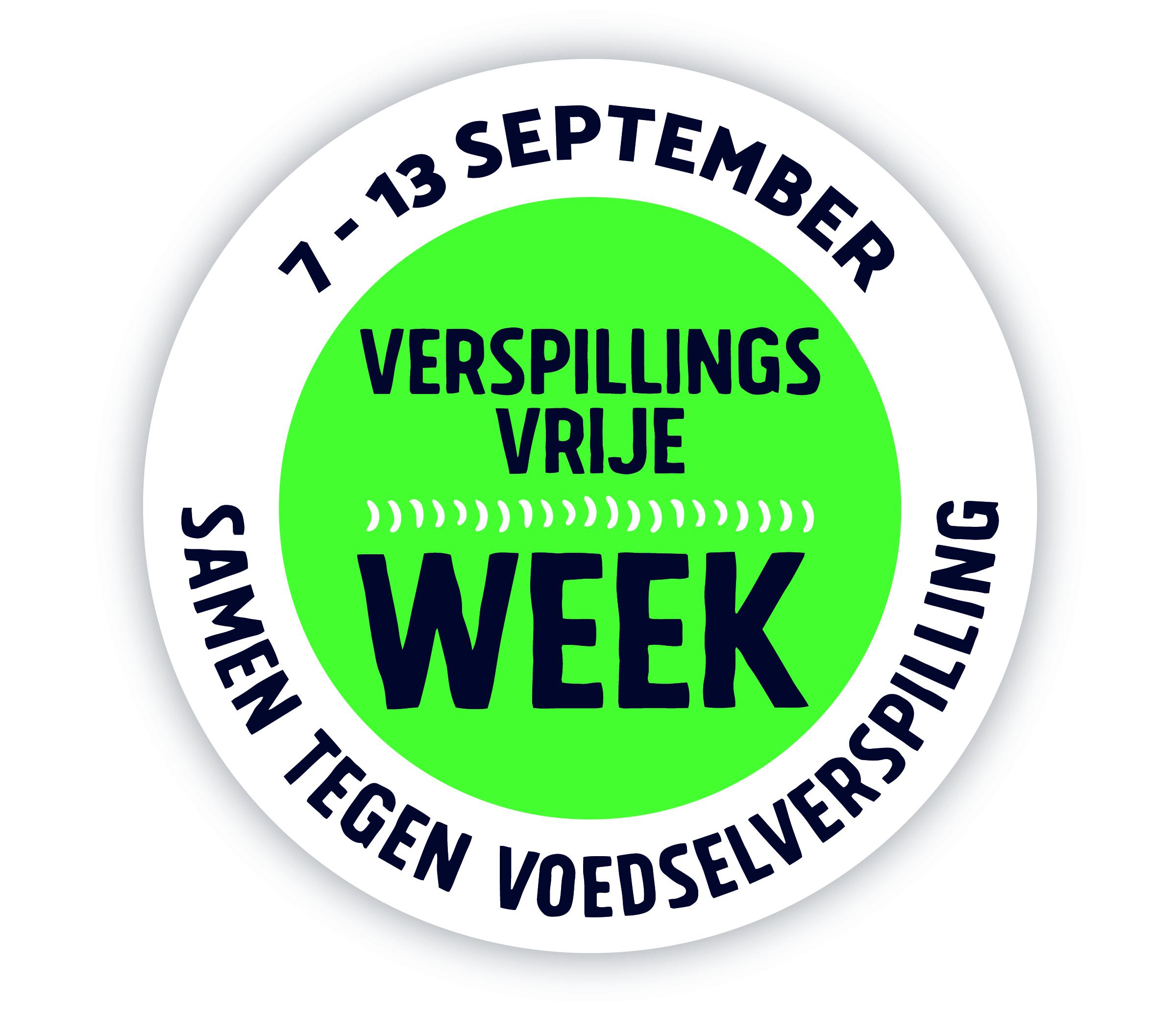 De Verspillingsvrije Week 7 t/m 13 september